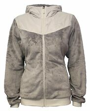 New Womens The North Face Fleece Jacket Coat Oso Hoodie Grey XS