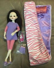 """MIM, make it mine,16"""" ball jointed lot Doll Sleeping Bag Cell Phone NEW Long Wig"""
