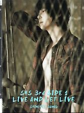 SHIN HYE SUNG (Shinhwa) 3rd Side 1 : Live And Let Live Import,*Promo CD*  K-Pop