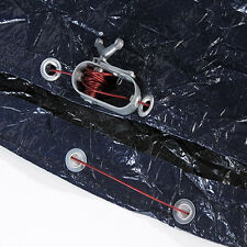 Swimline 24' ft Round 10 yr Swimming Pool Winter Cover &  4 x 8 Air Pillow