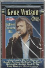 GENE WATSON Eighteen GH Paper Rosie Farewell Party Hot Afternoon NEW CASSETTE