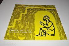 """█ Vinyle 12"""" (30cm) LE PAUVRE SOUS L'ESCALIER Henri Ghéon T.N.P. - PM 30 007A █"""
