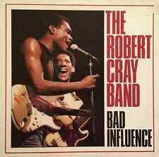 THE ROBERT CRAY BAND ‎- Bad Influence (LP) (G-/G+)