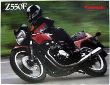 KAWASAKI Z550F - Motorcycle Sales Brochure - circa 1983 - #99943-1466 III-VIII