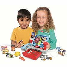 CASDON SUPERMARKET TILL – ROLE PLAY PRETEND TOY CASH REGISTER