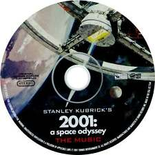 "Stanley Kubricks ""2001 A SPACE ODYSSEY"" - Music Soundtrack CD (New) - DISC ONLY"