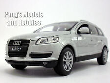 Audi Q-7 (Q7) 1/24 Scale Diecast Metal Model by Welly - SILVER