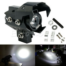 Noir Moto CREE U8 125W LED blanche Driving Fog Head Spot Light Pour BMW