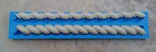 silicone sugarcraft mould Twisted rope set
