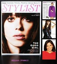 REBECCA HALL PARADE'S END DAVINA MCCALL CHLOE SEVIGNY STYLIST MAGAZINE JUNE 2012
