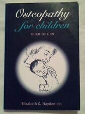 Osteopathy for Children by Elizabeth Hayden (Paperback, 2000)