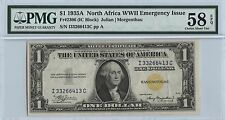1935A $1 North Africa WWII Emergency Issue PMG 58 EPQ