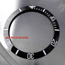 39.8mm ceramic black bezel insert for 43mm submariner parnis mens watch B8