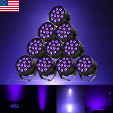 10Pcs 12x3W LED Stage Laser Projector Lighting DMX Party DJ Club Music Bar Light