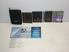2011 Ford Mustang Owner's Manual with Case