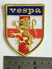 Vespa Lion St George Patch - Embroidered - Iron or Sew On