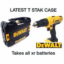 DEWALT 18v CORDLESS COMBI DCD776 LITHIUM XR BARE UNIT +LATEST T STAK CASE*