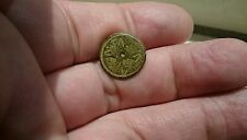 Stunning rare Roman coin type struck button Uncleaned condition and intact L284