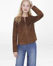 NWT LADIES EXPRESS COAT SZ S RET. $178.00 JACKET SUEDE FRINGE
