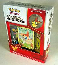 Mythical Victini Collection Box 2X Generations Booster Packs, Mint, Holo XY117