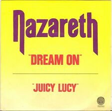 "NAZARETH ""DREAM ON / JUICY LUCY"" SP 1982 VERTIGO 6000 838"