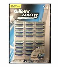 Gillette Mach3 Turbo Blister Pack - 24 Cartridges