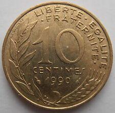 Francia 10 céntimos 1990