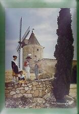 CPA France Fontvieille Moulin Windmill Windmühle Mollin Folklore Children w110