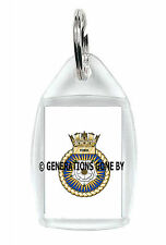 HMS YORK KEY RING (ACRYLIC)