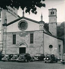 SUISSE c. 1940 - Voitures, Buick  Église  Grand Palace Hôtel à Lugano - DIV8354