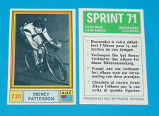 N°230 SIDNEY PATTERSON PANINI SPRINT 71 CYCLISME 1971 WIELRIJDER CICLISMO