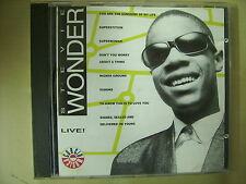 CD  Stevie Wonder Live - editoriale 8 brani