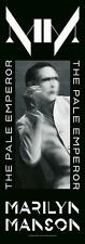 "MARILYN MANSON FLAGGE / FAHNE ""PALE EMPEROR"" 145x51cm POSTERFLAGGE POSTER FLAG"