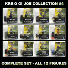 Kre-o GI-Joe 50th Year Collection/Wave 4 Complete Set of 12 Figures A7869 New