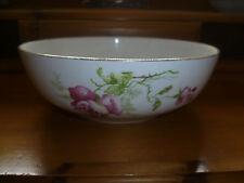 Ornamental Bisto Bowl Floral Design England