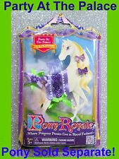 Pony Royale Mix It Up Fashion Party Palace Purple Green Ribbon Bow New  2012 Toy