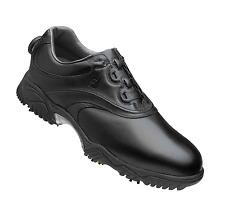 New FootJoy Men's Contour BOA 54203 Black Golf Shoes 9 Wide Manufacture Closeout