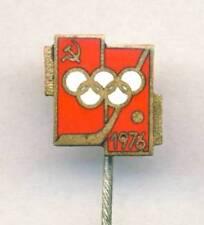 1976 INNSBRUCK Olympics SOVIET UNION Hockey Team PIN Badge Olympic Games 1