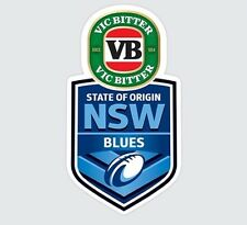 NEW SOUTH WALES BLUES STATE OF ORIGIN NRL MONSTER DECAL NRL CAR STICKERS SOO NSW