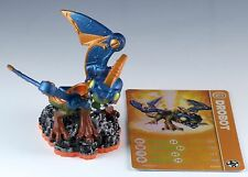 Skylanders Giants Drobot LightCore Figure Loose With Trading Stat Card