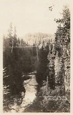 First Canyon CAPILANO North Vancouver BC Canada Gowen Real Photo Postcard