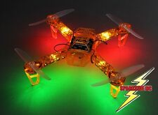 FPV250 V4 Quadcopter Orange Ghost Edition LED Night Flyer FPV Drone Kit - UK