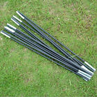 Reliable Black Fiberglass Tent Pole Kit 7 Sections Camping Travel Replacement EF