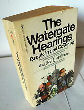The New York Times,THE WATERGATE HEARINGS.BREAK-IN AND COVER-UP,1973 Bantam