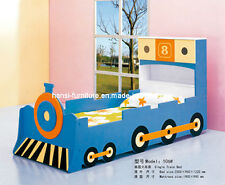 Kids' Train Bed Boys Single Blue Train Themed Child's Bed **COLLECTION ONLY**