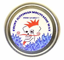 Count Justinian Moustache Wax - Sticky as Hell!!!