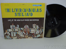 LEVER CAMBOULAYS STEEL BAND Live at The New Clay House LP Edmar ELPS 1097