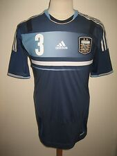 Argentina PLAYER ISSUE football shirt soccer jersey trikot camiseta size 8, L