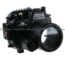 40M Waterproof Underwater Camera Housing Case for Canon EOS 70D & 18-135mm Lens