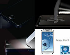 Genuine Tempered Glass Screen Protector Saver for SAMSUNG GALAXY S3